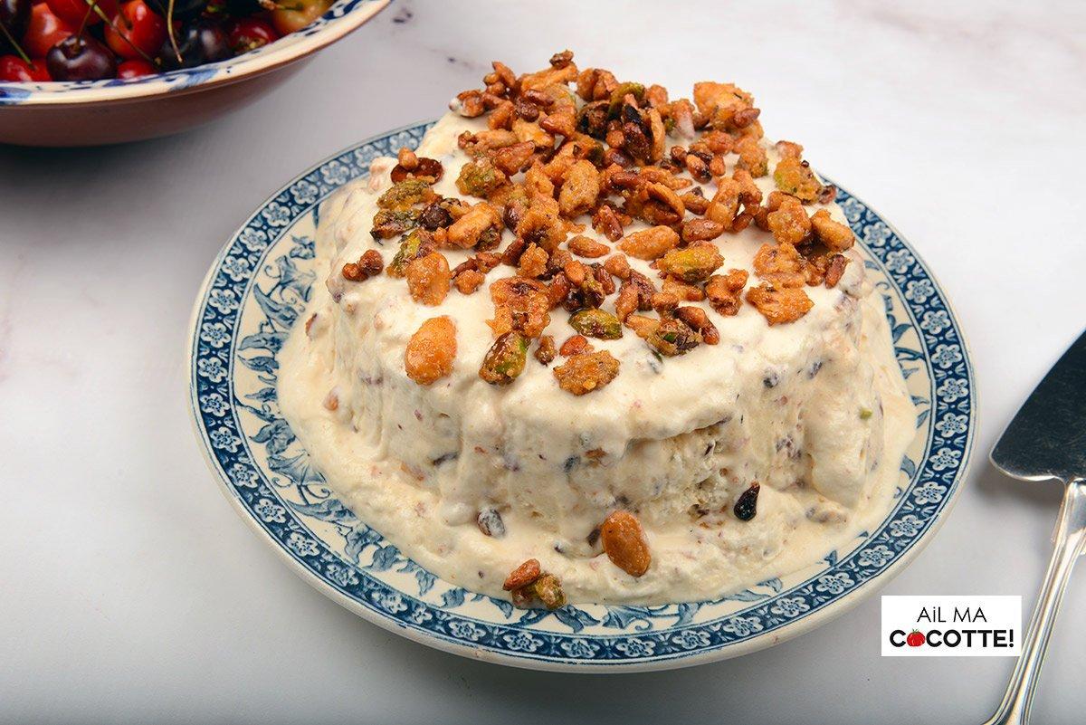 Nougat glacé, ailmacocotte.com