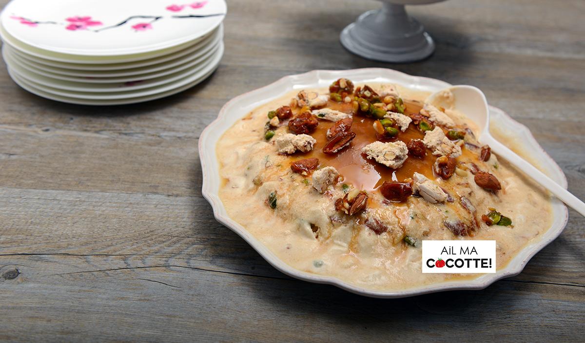 Recette Nougat Glace Recette Dessert Ail Ma Cocotte