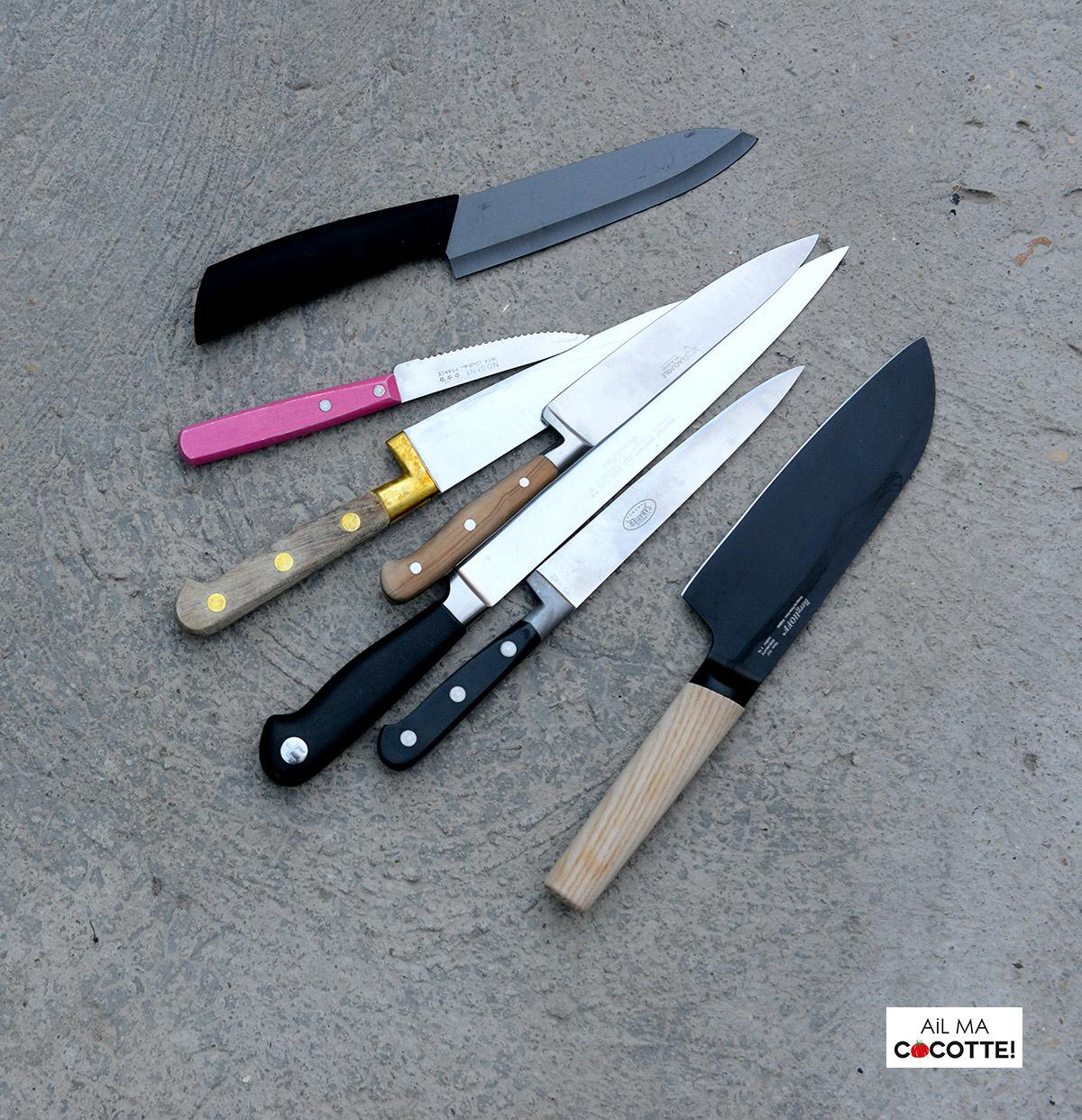 Un set de bons couteaux