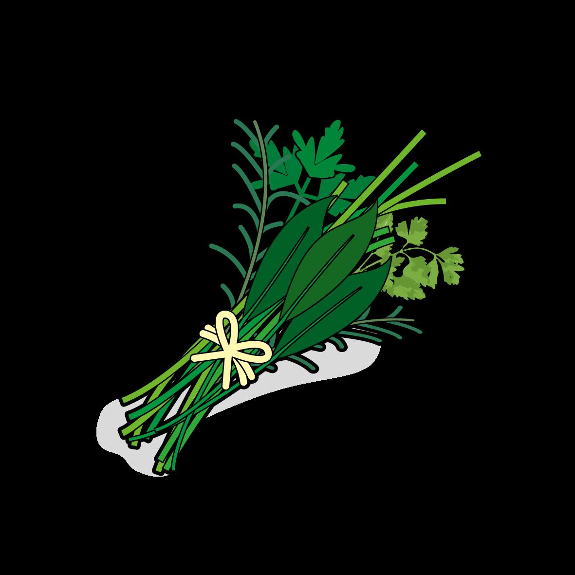 Icone d'un bouquet d'herbes, ailmacocotte.com