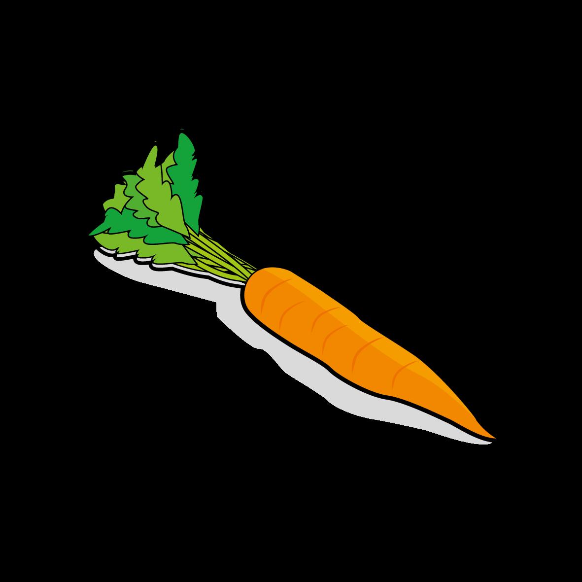 Icone d'une carotte, ailmacocotte.com