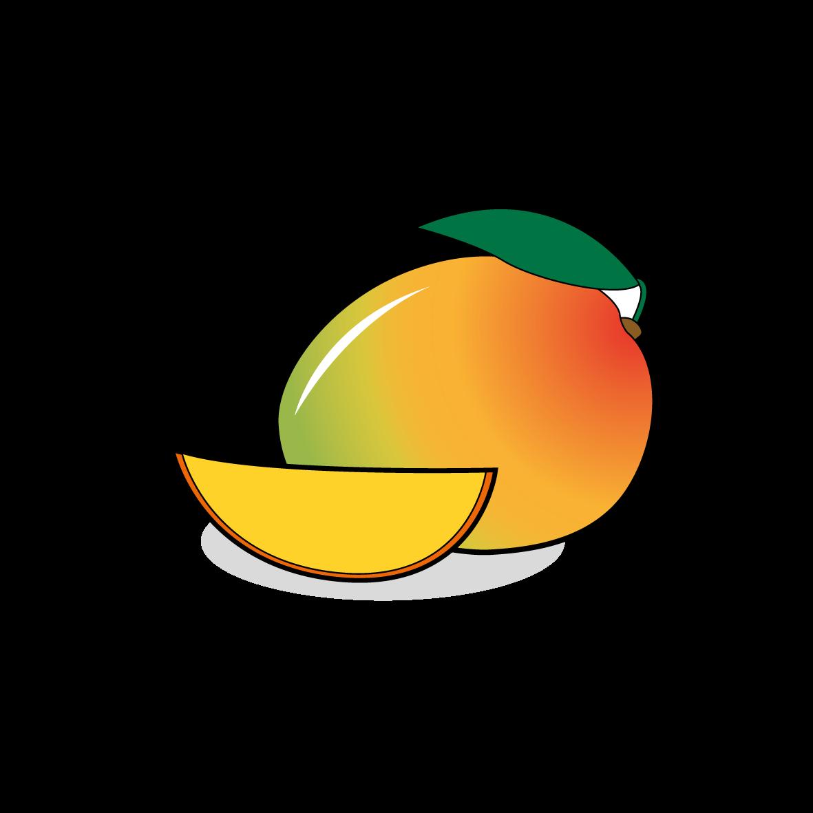 Icone d'une mangue, ailmacocotte.com