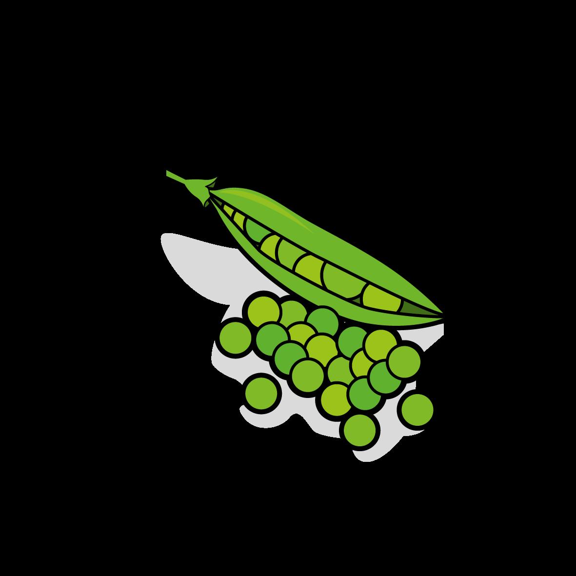 Icone de petits pois, ailmacocotte.com