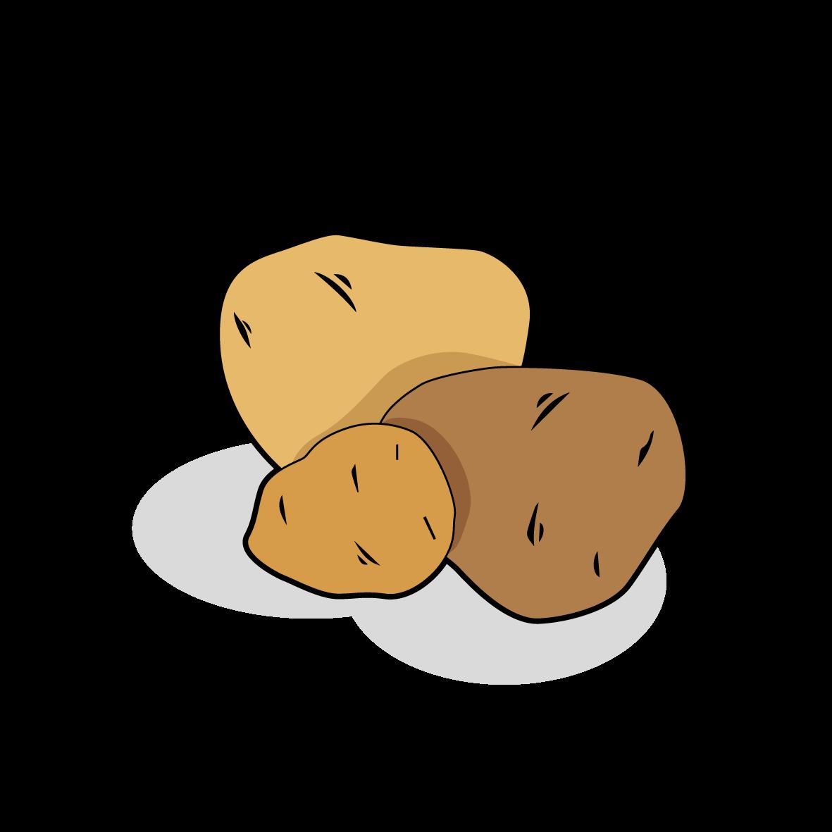 Icone de pommes de terre, ailmacocotte.com