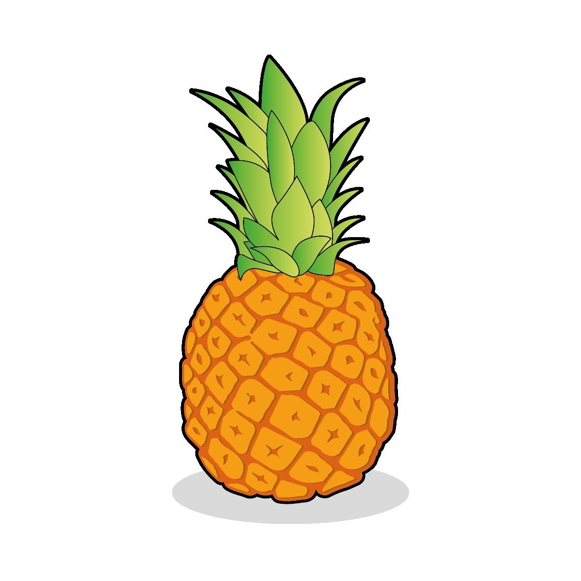 Icone d'un ananas , ailmacocotte.com