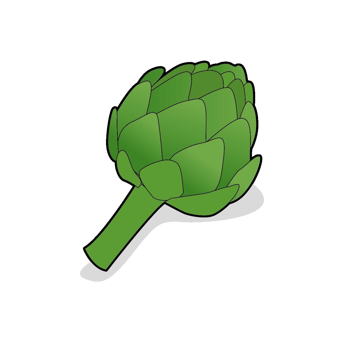 Icone d'un artichaut, ailmacocotte.com