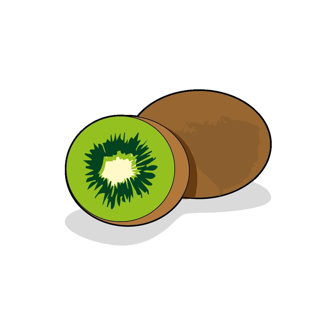 Icone d'un kiwi, ailmacocotte.com