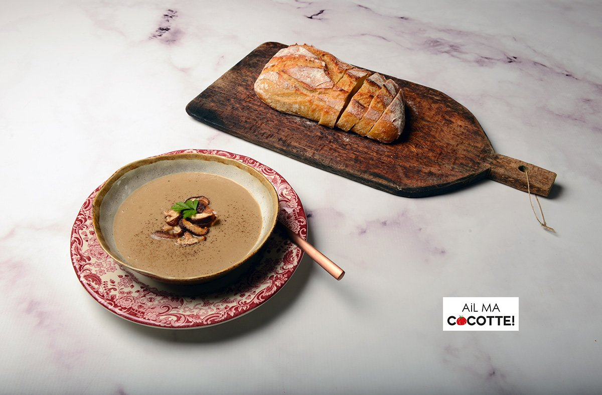 soupe aux champignons