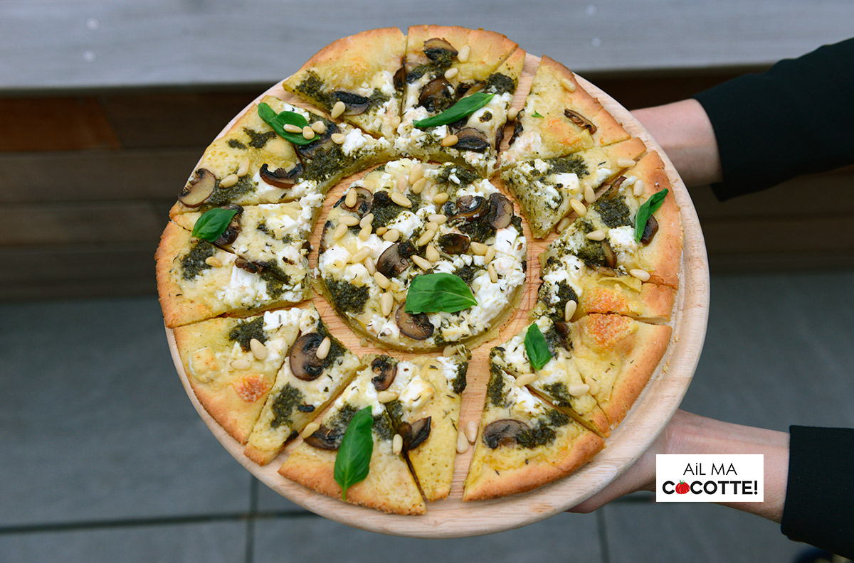 pizza champignons fromage