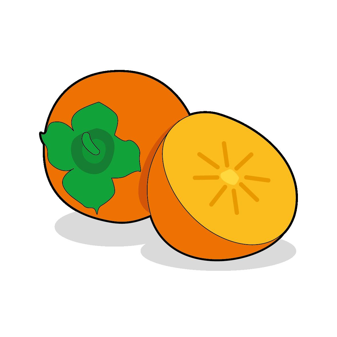 Icone d'un kaki, ailmacocotte.com