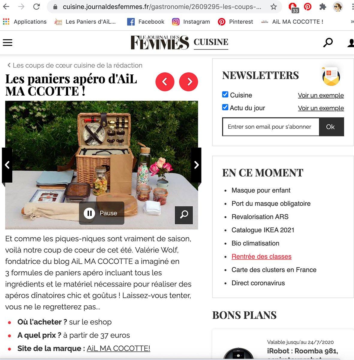 Le Journal des Femmes, ailmacocotte.com