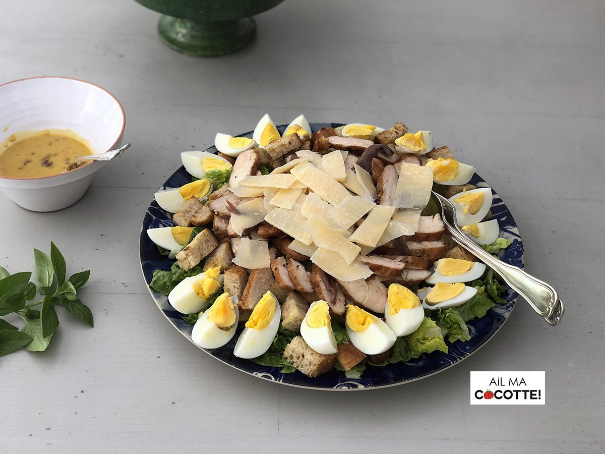 Salade César, ailmacocotte.com