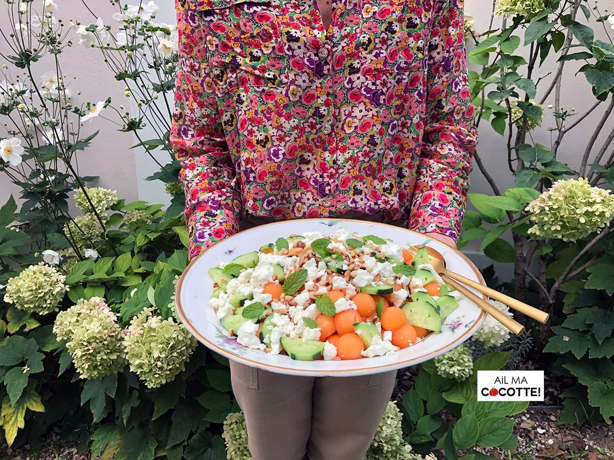 Gaspacho melon pastèque, ailmacocotte.com