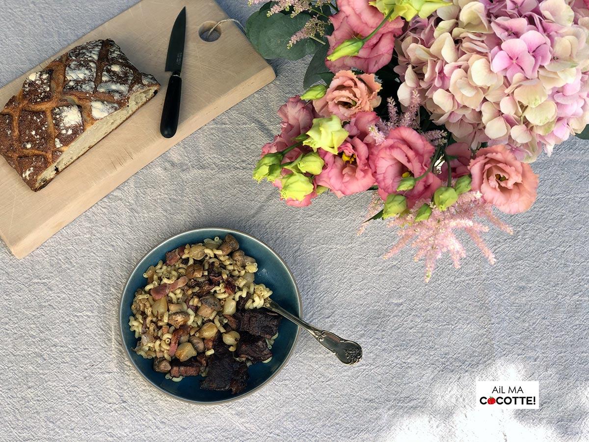 Bourguignon coquillettes, ailmacocotte.com