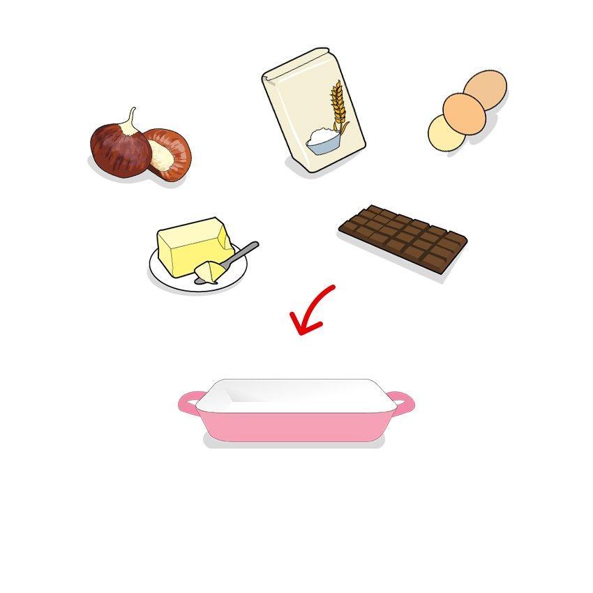 Icones des ingrédients composant la recette, ailmacocotte.com