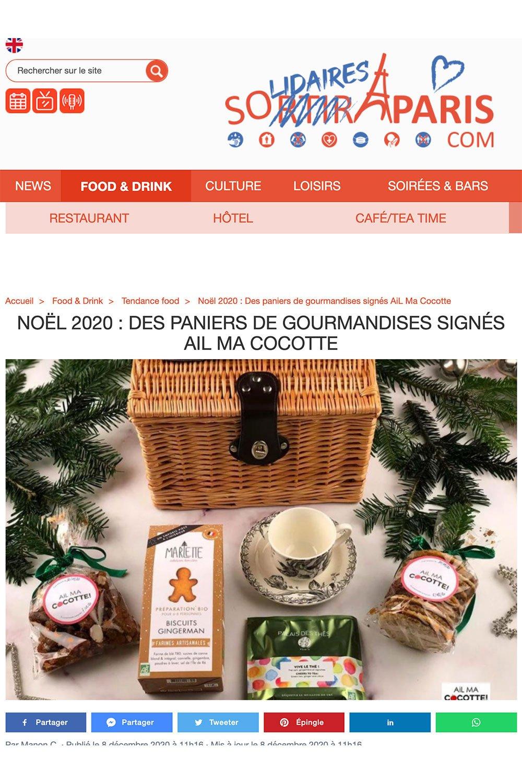 Parution sans Sortir à Paris, ailmacocotte.com