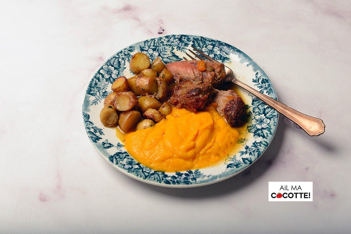 Purée de carottes, ailmacocotte.com