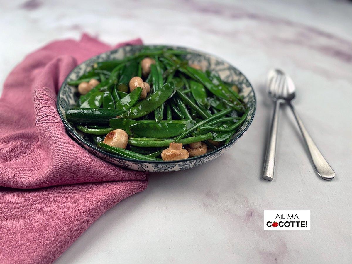 Légumes sautés au wok, ailmacocotte.com