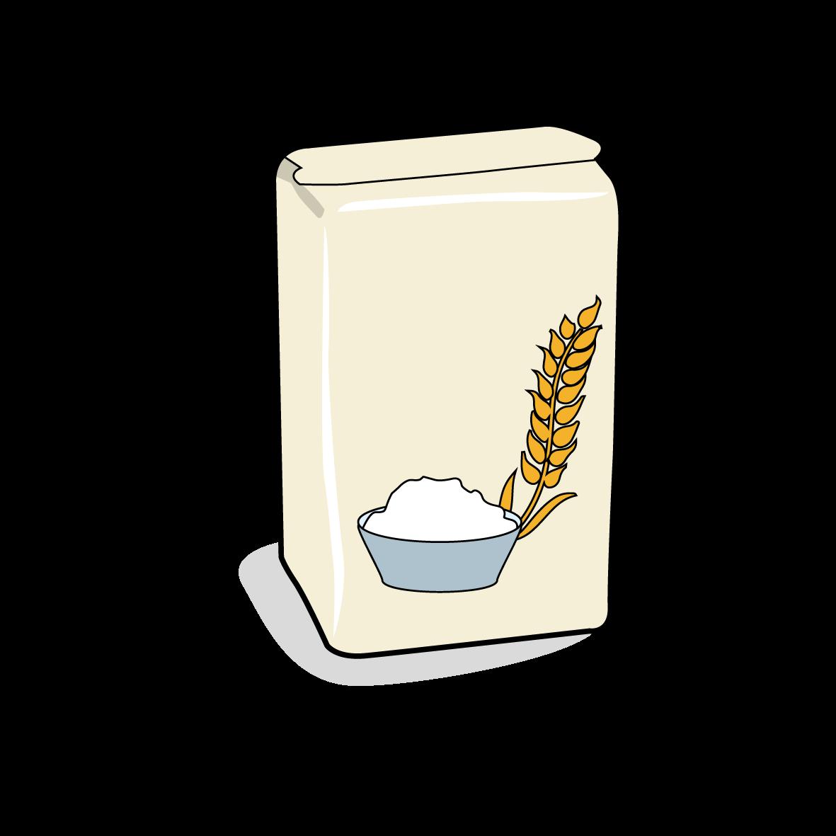 Icone d'un aquet de farine, ailmacocotte.com