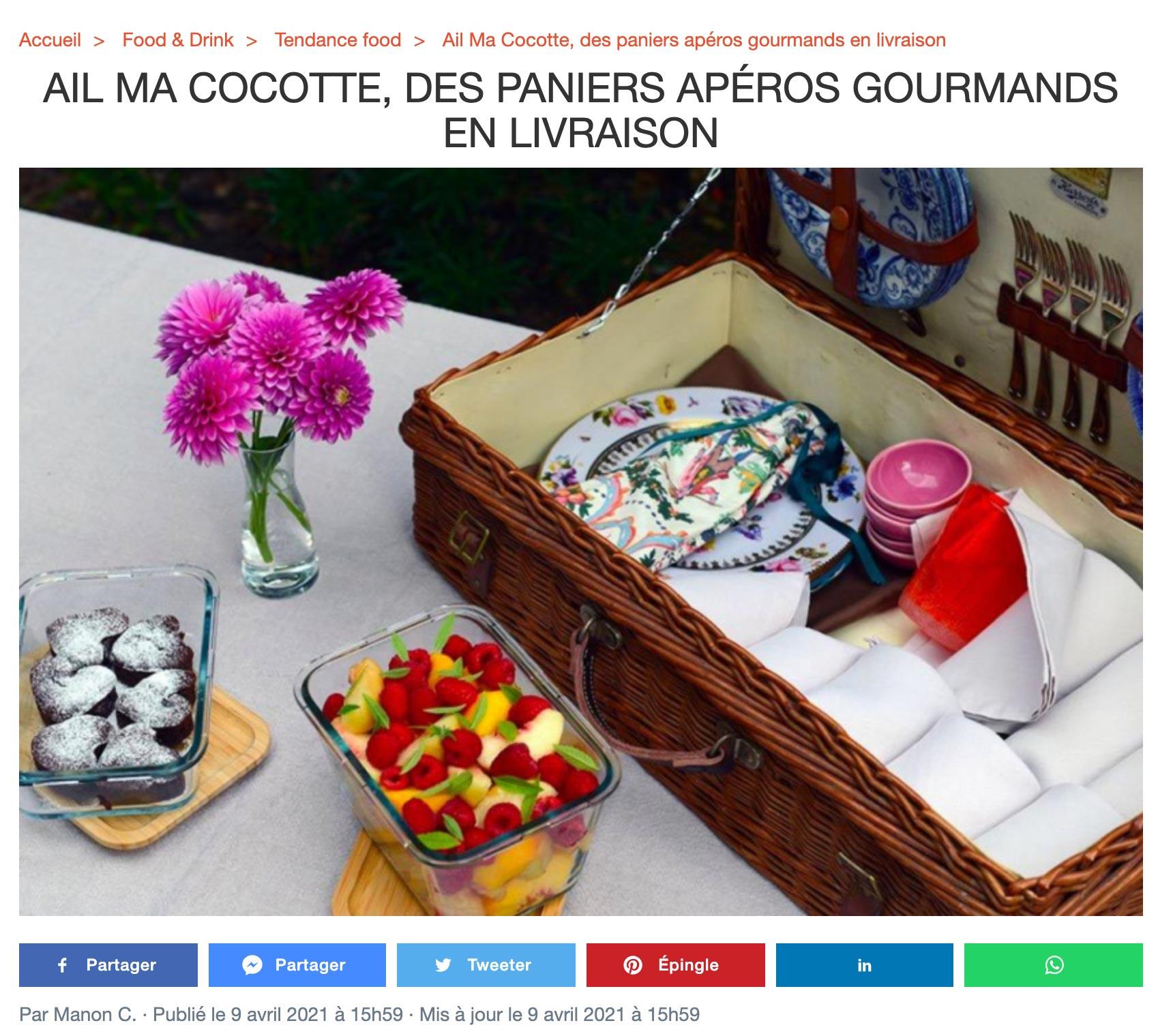 Sortir à Paris avril 21, ailmacocotte.com