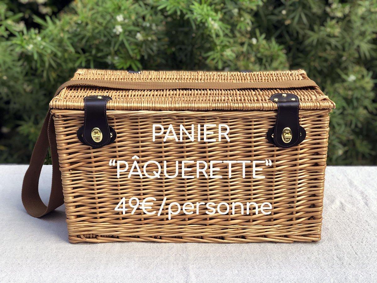 Panier Pâquerette, ailmacocotte.com